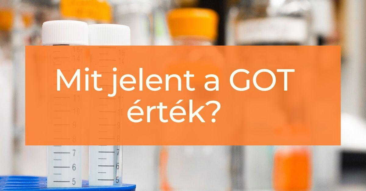 Mit jelent a GOT a laborleletben